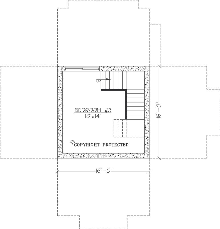 Asheville Model Home Interior Design 1264f: The Pedestal 1616 Floor Plan